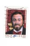 Sellos del Mundo : Europa : Italia : Luciano Pavarotti