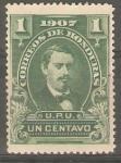 Stamps Honduras -  PRESIDENTE  JOSÈ  MEDINA