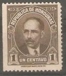 Stamps America - Honduras -  PRESIDENTE  MIGUEL  PAZ  BARAHONA