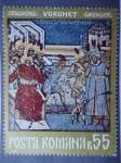 Stamps Romania -  Monasaterio de Voronet-