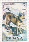 Sellos de Europa - España -  FAUNA HISPÁNICA- Lobo  (y)