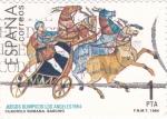 Sellos de Europa - España -  Cuadriga Romana  (Y)