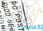 Stamps Spain -  Copa Mundial de Futbol España-82(Y)   (Y