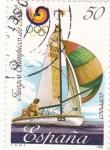 Stamps Spain -  Juegos Olímpicos de Seul   (Y)