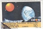 Stamps Spain -  Exposición Universal de Sevilla 1992    (Y)