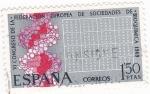 Sellos de Europa - España -  VI Congreso de la Federación Europea de Sociedades de Bioquímica   (Y)