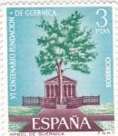 Stamps Spain -  VI Centenario de la Fundación de Guernica-Arbol de Guernica   (Y)