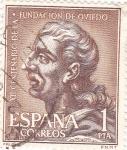 Stamps Spain -  XII Centenario de la Fundación de Oviedo  (Y)