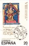 Stamps Spain -  VIII Centenario de las Cortes de León   (Y)