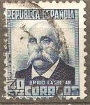 Stamps : Europe : Spain :  EIMILIO CASTELAR