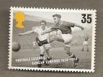 Stamps United Kingdom -  Futbolistas de leyenda