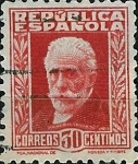 Stamps Spain -  Personajes Republicanos