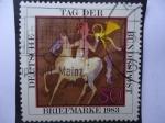 Stamps Germany -  Tag Der- Briefmarke 1983.