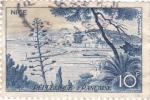Stamps France -  Paisaje de Niza