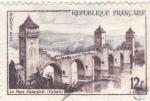 Sellos del Mundo : Europa : Francia : Puente de Valentré