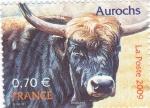 Stamps France -  Aurochs