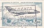 Sellos de Europa - Francia -  Avión-Mystere 20
