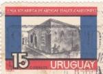Sellos de America - Uruguay -  Casa Solariega de Artigas (Sauce Canelone)