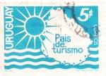 Stamps Uruguay -  Uruguay, País del Turismo