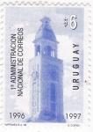 Sellos de America - Uruguay -  1ª Administración nacional de Correos