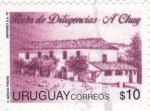 Stamps Uruguay -  Posta de Diligencias-A'Chuy