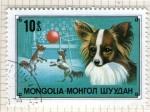 Sellos del Mundo : Asia : Mongolia :  Fauna