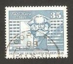 Sellos de Europa - Alemania -  1506 - Estadio de Karl Marx