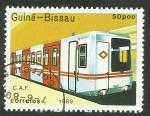 Sellos de Africa - Guinea Bissau -  Metro