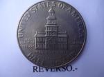 monedas de America - Estados Unidos -  Half Dollar-Bicentenario 1776-1976