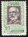 Stamps : Europe : Spain :  HOGAR ESCUELA DE HUERFANOS. GINER DE LOS RIOS
