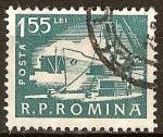 Sellos del Mundo : Europa : Rumania : Muelle.