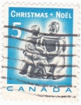 Stamps : America : Canada :  Christmas-Noël