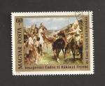 Stamps Hungary -  Encuentro de Rakoczi y Tamas Ezce