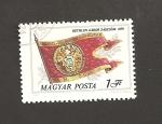 Stamps Hong Kong -  Estandarte de la casa Gabor Gehlen