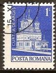 Sellos del Mundo : Europa : Rumania : Monasterio de Curtea de Arges.