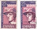 Stamps Spain -  Día Mundial del Sello-1962  (Z)