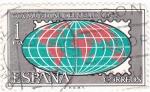 Stamps Spain -  Día Mundial del Sello- 1963  (Z)