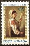 Sellos del Mundo : Europa : Rumania : Año Internacional de la mujer (Nicolae Grigorescu).