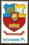 Sellos del Mundo : Europa : Rumania : Escudo de armas de los condados rumanos-Craiova.