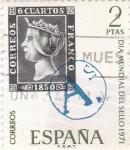 Sellos de Europa - España -  Día Mundial del Sello- 1971  (Z)