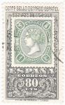 Sellos de Europa - España -  Centenario del sello dentado Español  (Z)