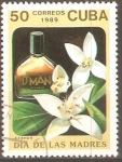 Stamps Cuba -  PERFUME