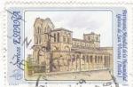 Sellos de Europa - España -  Patrimonio Mundial de la Humanidad-Iglesia San Vicente (Avila)  (Z)