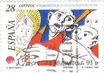 Sellos de Europa - España -  Compostela-93     (Z)