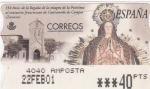 Stamps Spain -  Virgen de La Purísima -ATM    (Z)