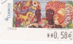 Stamps Spain -  Africanas -ATM    (Z)
