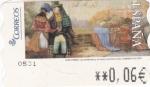Sellos de Europa - España -  Los Bombones y el Amor a Primera Vista -ATM    (Z)