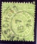 Stamps Europe - Germany -  Cifras. Confederacion Alemana del Norte