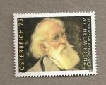 Stamps Austria -  150 Aniv nacimiento compositor W. Kienzl