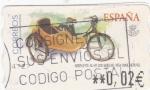 Sellos del Mundo : Europa : España : Moto con Sidecar -ATM    (Z)